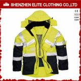 High Visibility Waterproof Reflective Work Jacket for Men (ELTSJI-1)