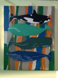 Sea Fish Oil Painting (LH-037000)
