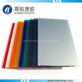SGS Approved Polycarbonate Hollow Sheet with 50um UV Coating