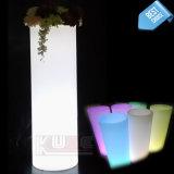 Whosale LED Lumious Flowerpot Outdoor LED Flower Pot