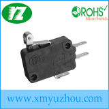 Small 16A Short Roller Sealed Micro Switch V-16