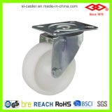 "8"" Swivel White Plastic Industrial Castor Wheel (P101-30D200X50)"