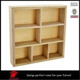 Simple Wooden Craft Storage Unit Floating Wall Cube Display Shelf
