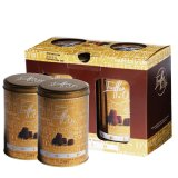 Truffes Chocolate Metal Tins with Gift Paper Packaging