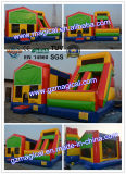 Bounce House with Slide Castle Inflatable Bouncer Slide Combo (MIC-989)