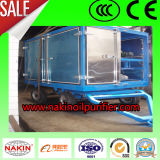 Zym-30 Mobile Type Transformer Oil Purification Machine, Oil Recycling Equipment
