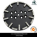 10 Inch Diamond Concrete Grinding Plate for Radial Arm Machine
