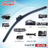 Shown Multifunction Universal Flat Wiper Blade (HS-570A)