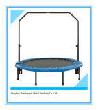 40 Inch Blue Round Mini Trampoline for Home Indoor Use