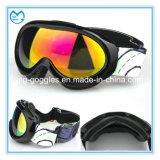 Black TPU UV 400 PC Ski Sporting Kids Goggles
