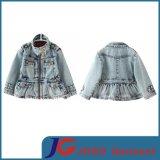 Cute Jacket Girls Jean Coat (JT5010)