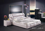 Modern Bed Sets Home Furniture Double Bed with Bedstands (J320-2)