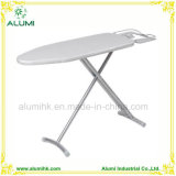 Hotel Silver Foldable Ironing Table with Adjustable Height