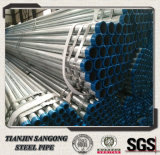 Pre-Galvanized Pipes with Plain Ends/ Threaded Ends/Bevel End