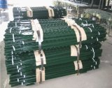 1.33lb/FT Heavy Duty Green Painted Studded Tee Post/T Post