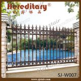 High Security Aluminium Garden Fencing Powder Coated (SJ-W007)