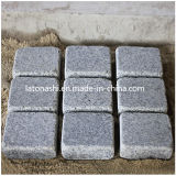 Natural G603 Granite Cobble Paving Stone for Driveway, Patio, Backyard