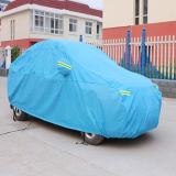 Folding Silver PEVA Sun Car Cover (gc-c002)