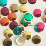 Blue Sapphire Nail Art Metal Gems Round Hot Fix Nailhead (HF nailhead/3mm)