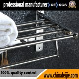 Adjustable Satin Finish Bathroom Accessories/Fitting Multi-Fuction Towel Rack