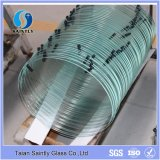 Oval Tempered Decorative Glass for Lamp Shade
