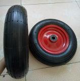 Red Steel Rim Straight Line Air Wheel (3.50-8)