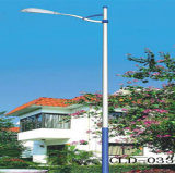 Customized Height Galvanized Street Light Steel Poles