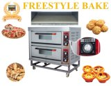 Stainless Steel Electric Bakery Pizza Oven for 6'', 9'' and 24'' in Baking Equipment (WDL-2)