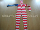 Stars and Stripes Morph Suit / Party Decoration Costume