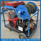 Petrol High Pressure Pipe Washer Sewer Drain Cleaning Machine