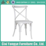 High Quality Resin Cross Back Chair at Wedding