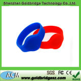 2014 Best Selling Customer Design 13.56MHz /125kHz/UHF RFID Silicone Wristband