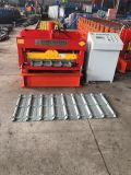 PLC Automatic Colored Steel Glazed Roofing Tile Roll Forming Machine