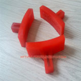 Injection Process Custom Made Red Plastic Parts/Products