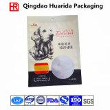 Food Grade 3-Side Sealed Plastic Food Bag for Wet Food
