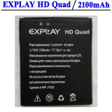 2100mAh Replacement Li-ion Battery for Explay HD Quad 3G Smartphone High Quality Accumulator