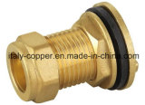 ISO9001 Certified Brass Forged Tank Connector (AV7006)
