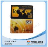 Plastic Supermarket Reward Card Company Bonus Card for Staff