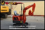 Small Digger China Mini Digger 800kg with Ce/ISO