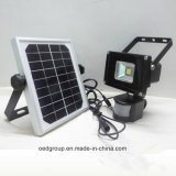 5W Solar Power LED Flood Light with PIR Sensor