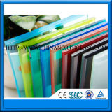 Blue Color Laminated Glass