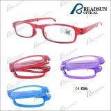 Fashion Plastic Injection Foldable Reading Eyewear (RP94038)