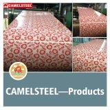 Flower Pattern Design Color Steel Sheet Coating Steel Coil