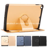 Dual Layer Armor Hybrid Rotating Combo Stand Case for iPad Air