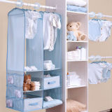 Hanging Closet Organizer for Kids, Clothes Organizer
