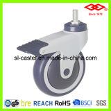 125mm Swivel Locking Medical Castor Wheel (L502-39E125X32CS)