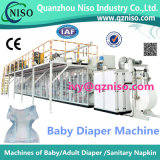 Full-Servo Elastic Ear Baby Diaper Machine Factory (YNK500-SV)