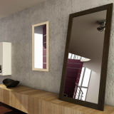 Silver Mirror for Bathroom Using