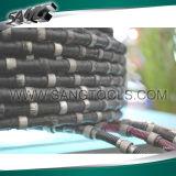 11.5mm Diamond Wire Cutting Saw for Granite Sandstone Limestone Quarry