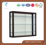 High Quality Wooden Wall Mount Display Cases